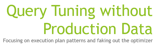 query-tuning-without-production-data-logo