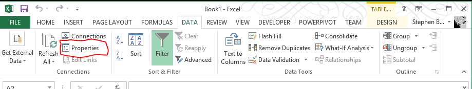 Load SQL Server Data into Excel   SQL Notes From The Underground