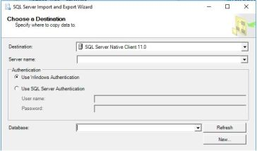 Import Export Wizard Mapping Files | SQLSwimmer