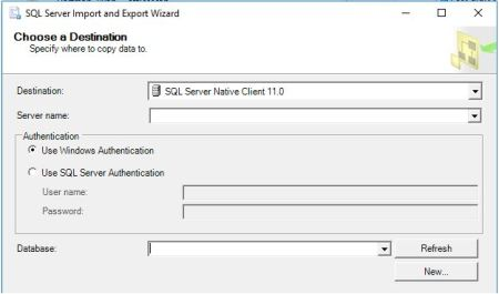 Import Export Wizard Mapping Files - SQLServerCentral
