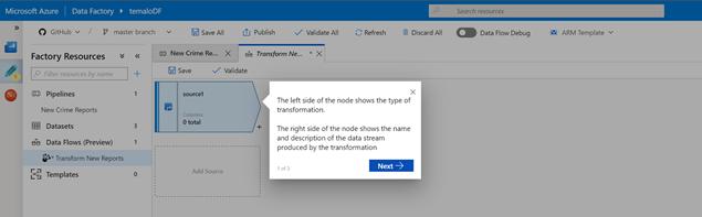 Azure Data Factory – Mapping Data Flows – Data, Advanced Analytics