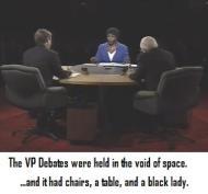 VP Debates held in void of space