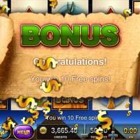 Slots - Pharoah's Way Free Spin 1