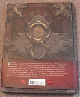 BackCover Diablo III: Book of Cain Review Diablo III: Book of Cain Review Back Cover