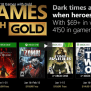 News Xbox Live Games With Gold For January 2018