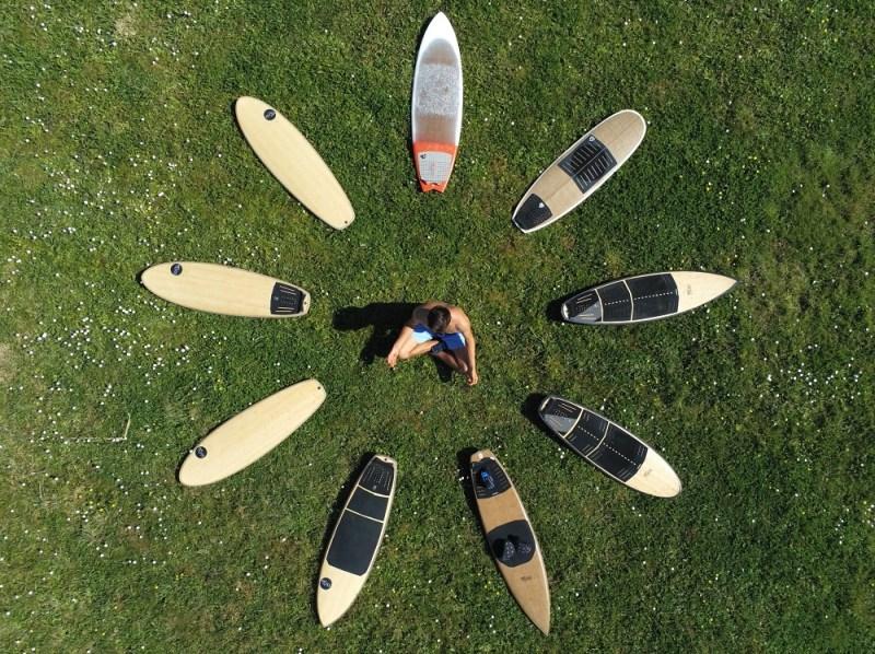 planche surf meditation yoga kite