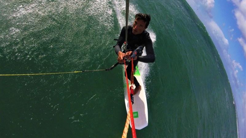 jibe surf kite strapless