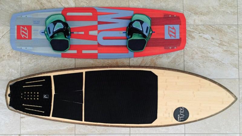 comparaison twintip surf strapless