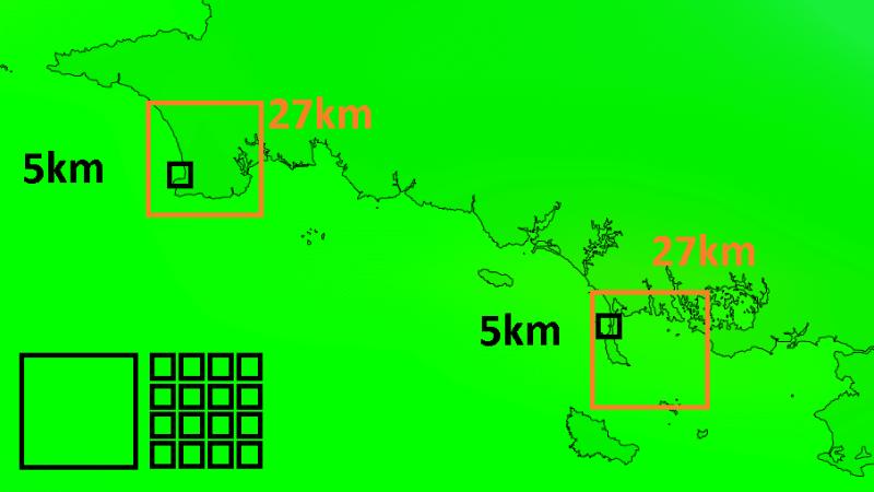 carte précision modèle windguru