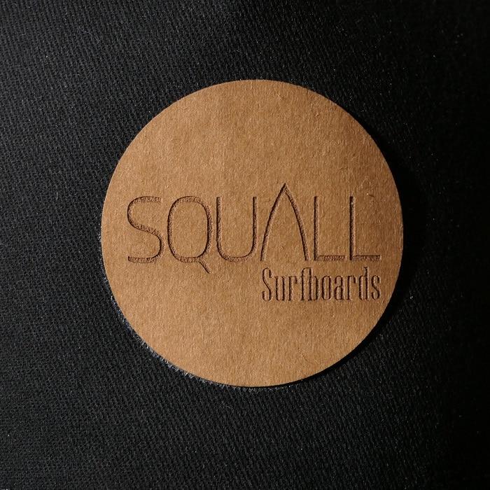 logo casquette squall
