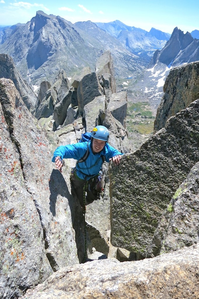 Climbing in the Wind River Range, Wyoming