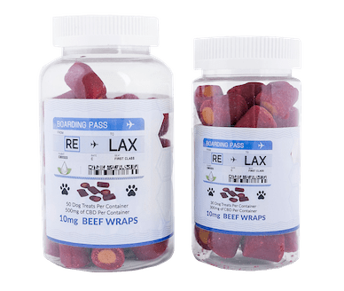 RE-LAX CBD Beef Wraps 100mg