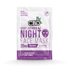 CBD Lavender Night Time Face Mask