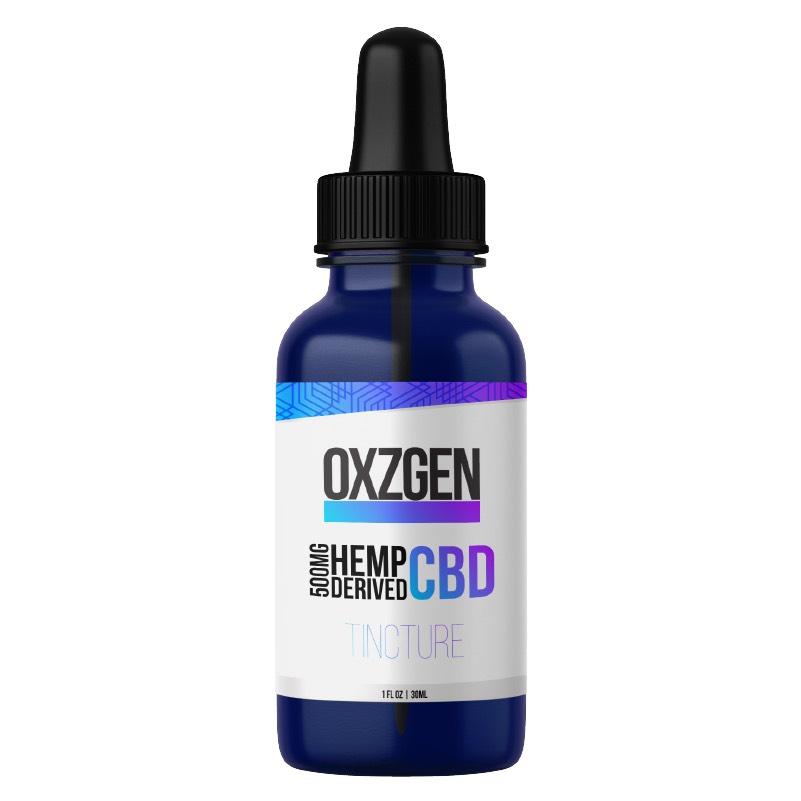 Oxzgen 500mg CBD Tincture