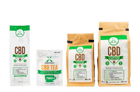 CBD coffee and CBD tea