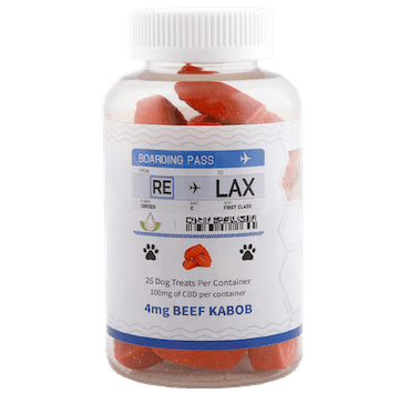 Relax CBD Pet Treat Beef Kabob 100mg