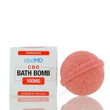 100mg Romance (Frankincense) Bath Bomb cdbMD