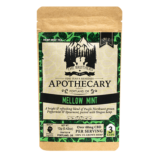Brothers Apothecary Mellow Mint Tea