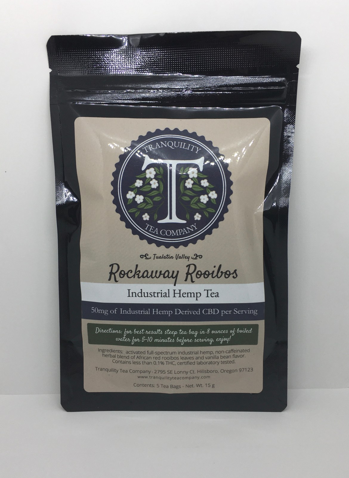 Tranquility Tea Rockaway Rooibos Tea
