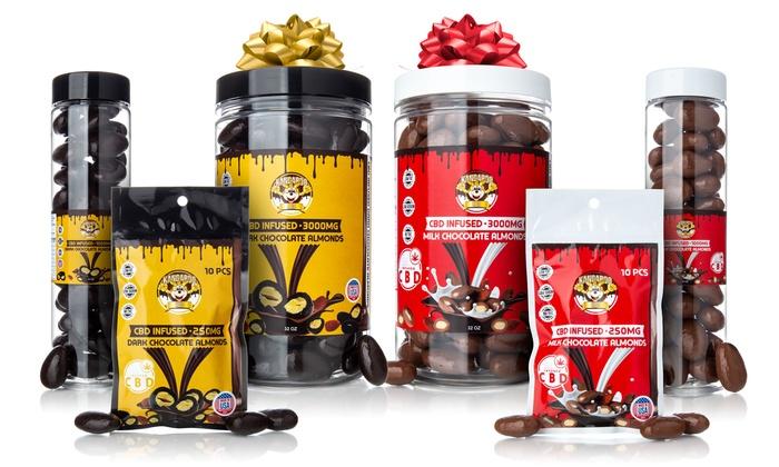 Kangaroo CBD Chocolate Almonds