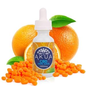 AKUA - Vape juice - Orange Candy 250mg, 600mg, 1200mg