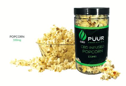 CBD popcorn 100mg