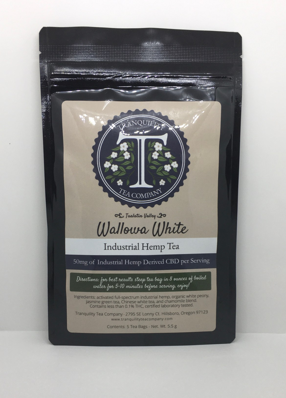 Tranquility Tea Wallowa White Tea