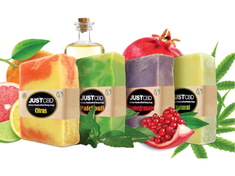 JUSTCBD CBD Bath Soap
