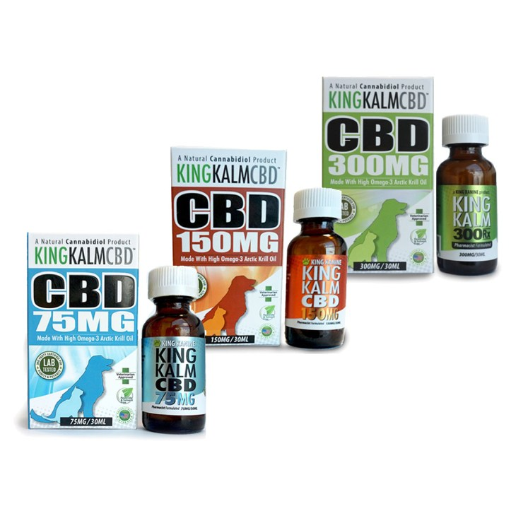 KING KALM CBD Pet Oils
