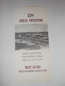 1964 Annual Trust Section Convention Bankers Jack Tar Hotel