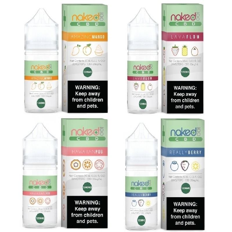 Naked 100 CBD Vape Juice