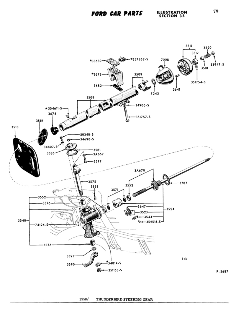 1959 Ford F100 Ignition Wiring Diagram. 1959. Wiring