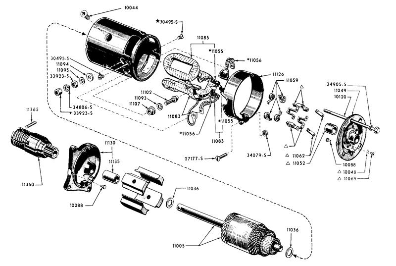 Ford Inertia Starter Motor