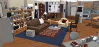 The Big Bang Theory- Wohnung in 3D! | HomeByMe