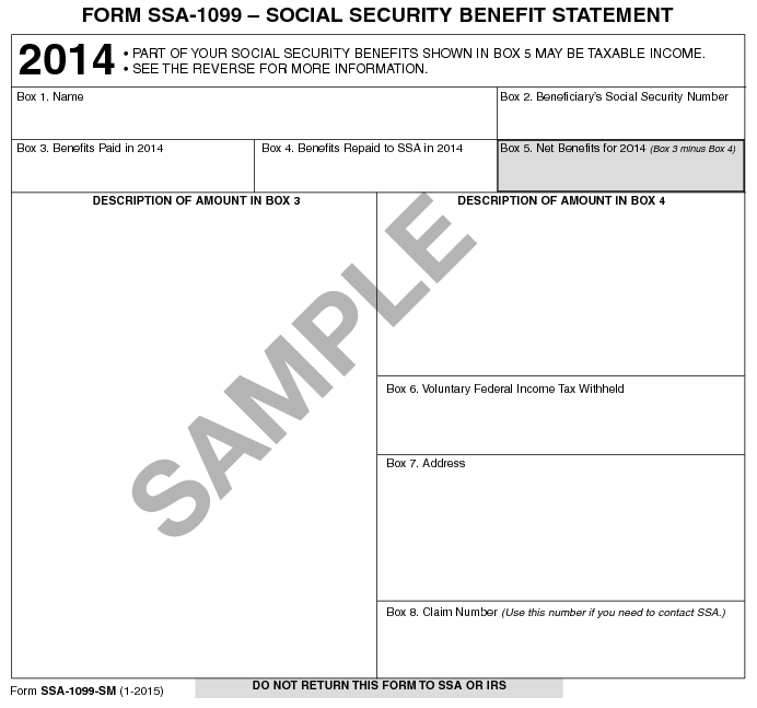 Social Security Administration Form: Lost Your Social Security Benefits Tax Form?