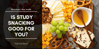 snacking while studying good for you?