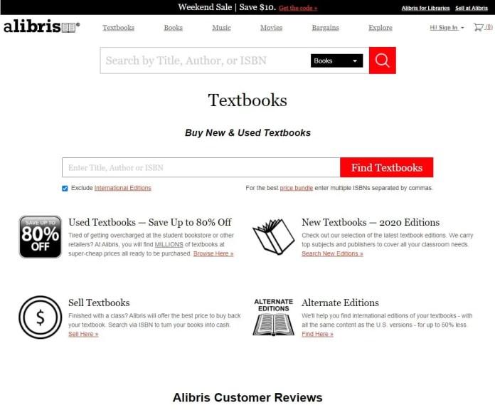 alibris cheap international textbooks online