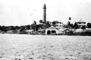 Jupiter Lighthouse Grounds - 1910 (596 x 392)