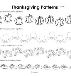 Making Patterns: Thanksgiving Style (free worksheet!)   Squarehead Teachers [ 2550 x 3300 Pixel ]