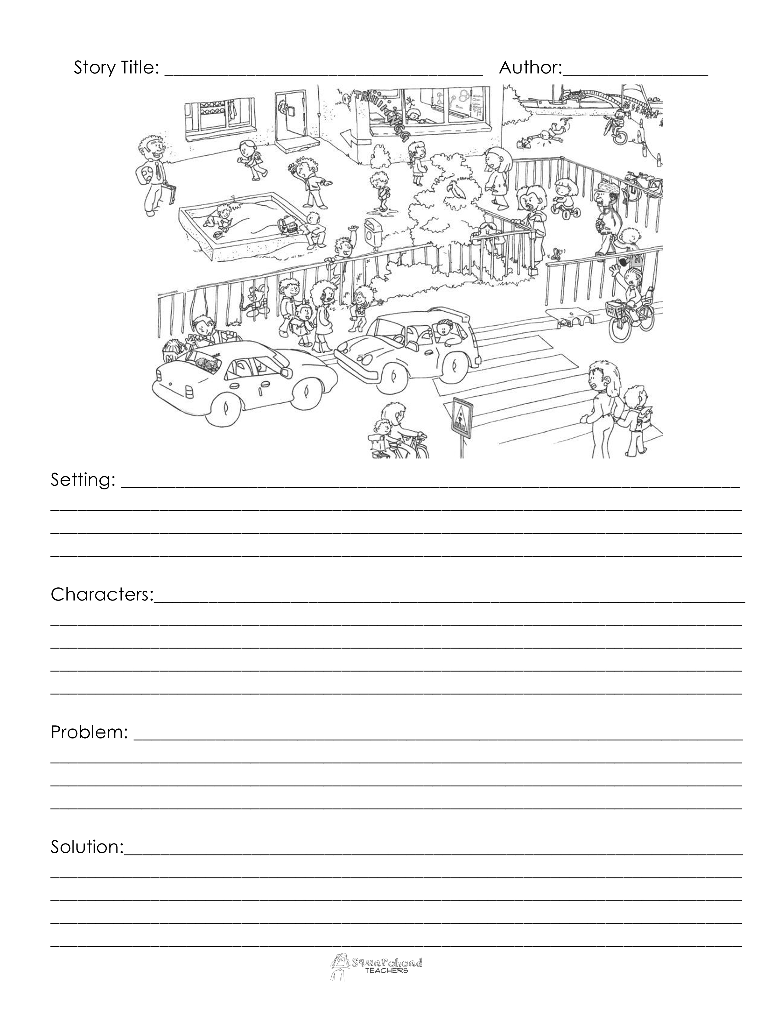Everyday Writing Project Story Starters Free
