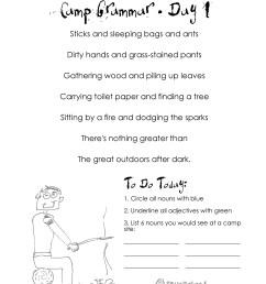 Camp Grammar (4 days of free worksheets for upper grades)   Squarehead  Teachers [ 3300 x 2550 Pixel ]