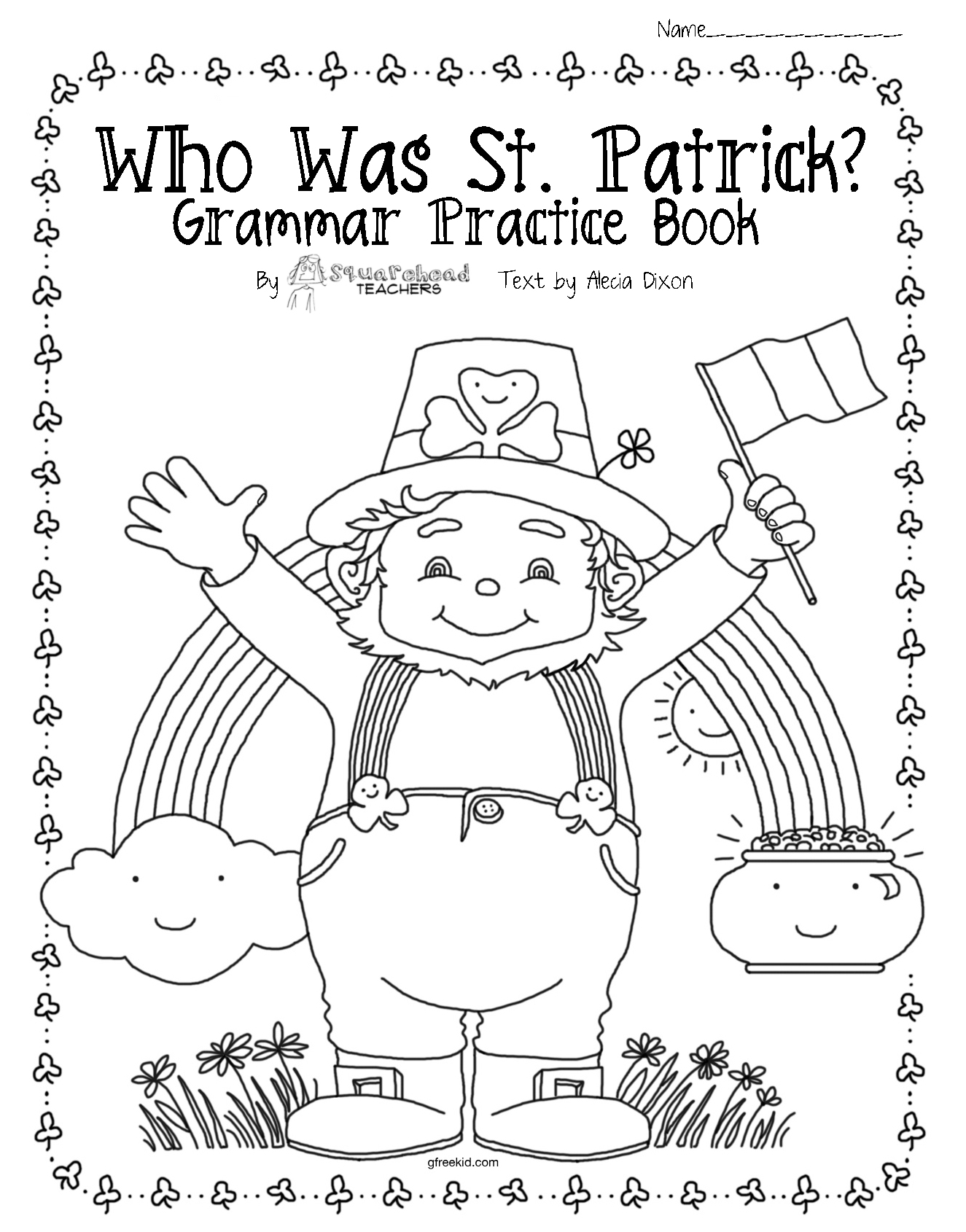 Who Was St. Patrick? (upper grade grammar & comprehension
