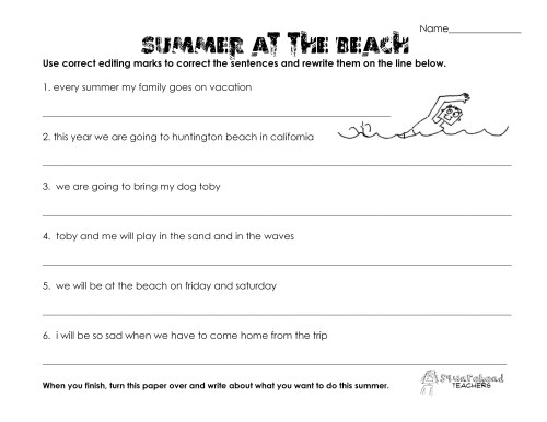 small resolution of English Language Arts Worksheet 5th Grade   Printable Worksheets and  Activities for Teachers