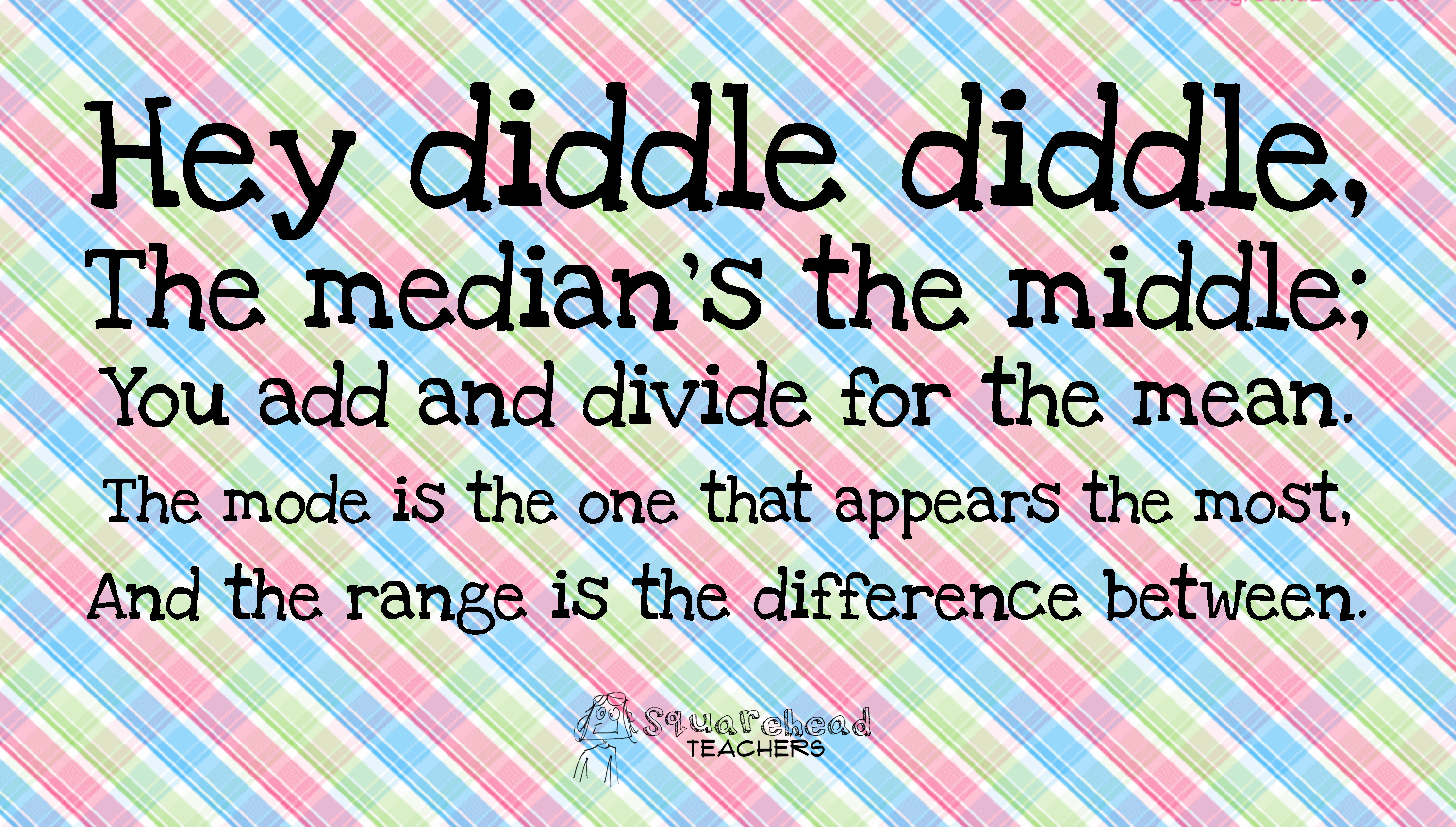 Hey Diddle Diddle Math Rhyme