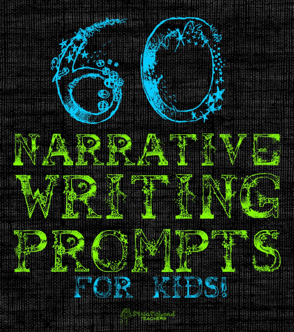 medium resolution of 60 Narrative Writing Prompts for Kids   Squarehead Teachers