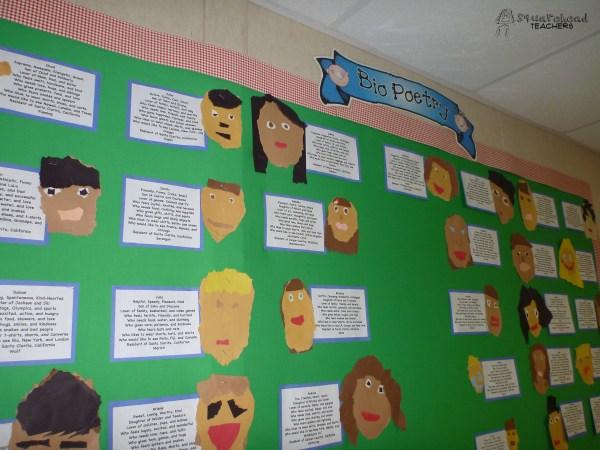 Preschool Teacher Bio Board Ideas