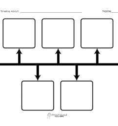 Blank Timeline Printables   Squarehead Teachers [ 2550 x 3300 Pixel ]