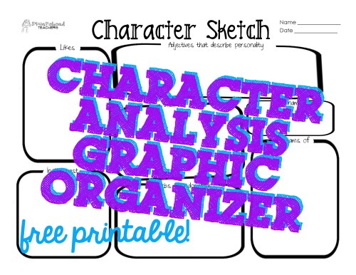 small resolution of Character Sketch Graphic Organizer   Max Installer