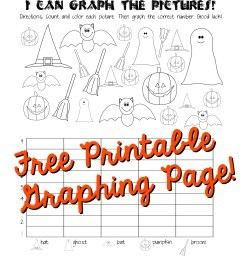Halloween Graphing Page (Kindergarten [ 3300 x 2550 Pixel ]