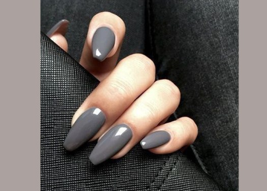 slight coffin shape nails